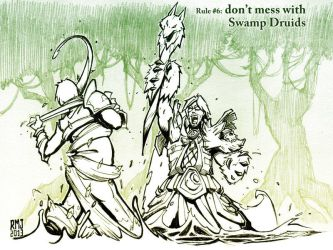 Don't Mess With Swamp Druids by RennyManJr