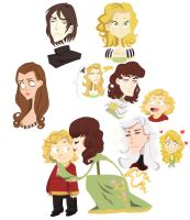 asoiaf - doodles 4 by spoonybards