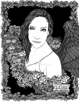 Angel Maricela by rolenromanes