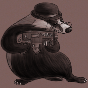 Frank 'Badger' Calhoun by MelAddams