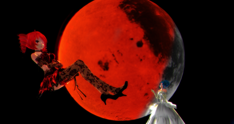 [MMD] - OG - Blood Moon by MMDTeto13
