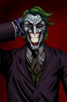 The Joker by mike-mcgee