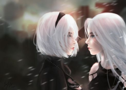 I am you and you are me by ekitties
