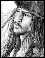 .Jack Sparrow. by koifish