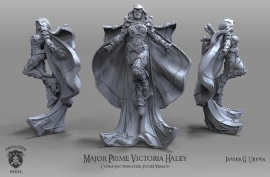 Major Prime Victoria Haley: Future Version by javi-ure