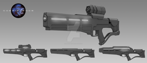 Rifle Concept - Coexistence by nemisisbeta