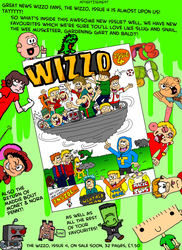 The Wizzo Issue 4 Ad by WizzKid97