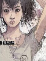 Trese Fan Art 1 - close up by nivrem