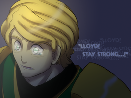 Ninjago: Stay Strong Lloyd by witch-girl-pilar