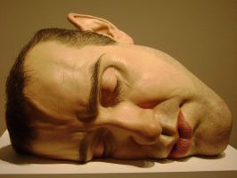 Ron Mueck Ex 4 by Mony-Sim