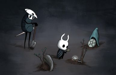 Farewell - Hollow Knight by Awlita