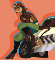 Riding Foreign by Goat-the-Goatie-Goat