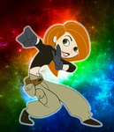 Disney Altercation #2 - Kim Possible by Galaxy-Afro