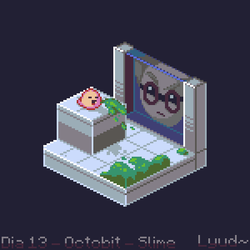 Spewer - Octobit2018 Day13 - Slime by Paulo60379