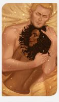 Romance Card - Cullen and Evelyn II by gravity-zero