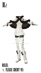 Drakengard One Outfit MMD DL by Promptus