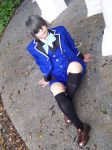 Ciel (episode 4 outfit) at Fort Canning 2 by Heatray2009