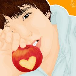 Mr Apple Love by priscilang