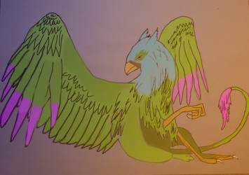 Gryphon by GryphonTheGrate
