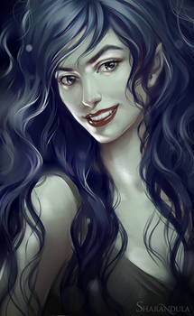 Marceline the Vampire Queen by sharandula