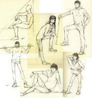 People ref sketches by msshanh