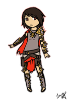 SMITE: Bellona Sticker by TheCoconutTurtle