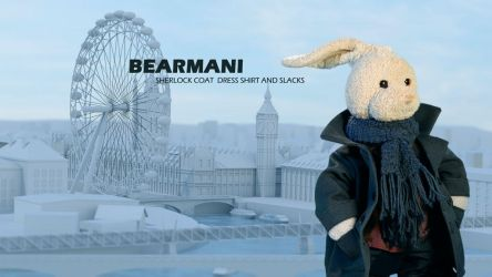 Bearmani Ad 4 by zackaryrabbit