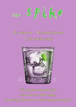 MLP Booze is Magic: Spike by syrusbLiz