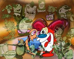 Ren and Stimpy Reminisce by coupdegrace