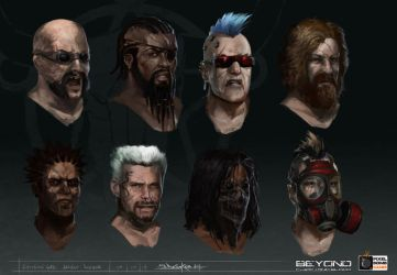 Shotgun_Rebel_Head_concepts by zombie-ninja