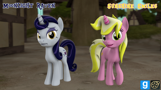 [DL] Moonlight Raven and Sunshine Smiles by MythicSpeed