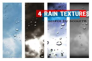 4 rain textures - set 1 by scout78