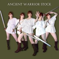 Commission: Ancient Warrior Stock by Dailiaa