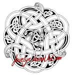 Celtic Snakes outlines by Feivelyn