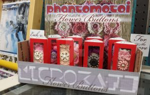 Microkath Flower Buttons by KB Jenson only @ FLCAM by Phantomoshop