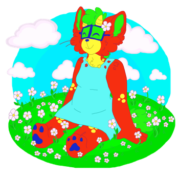 flower girl by tinymeows