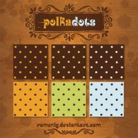 Polka Dots Patterns by Romenig