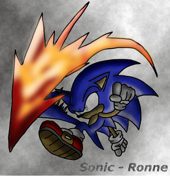 Sonic by ronimexp