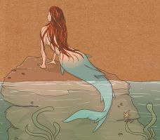 The Little Mermaid by bloodonthemoon5