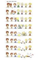 APH: Card Kissing Game by Mouichi