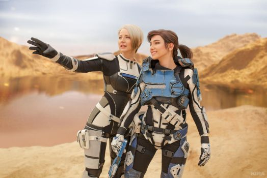 A Foundation (Mass Effect: Andromeda cosplay) 5 by niamash