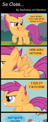 So Close... by Blanishna