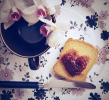 Fall in love for breakfast by Alessia-Izzo