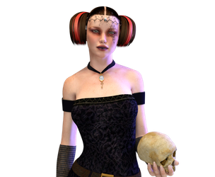 Goth girl - Unrestricked by Ecathe