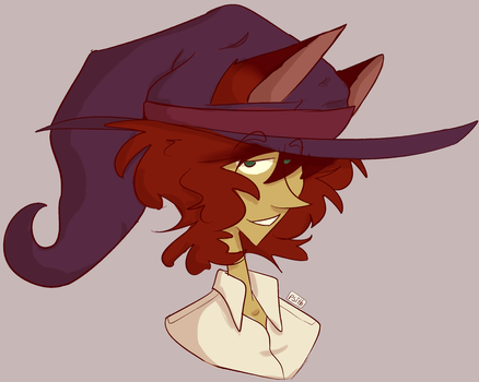 annual kristopher in a witch hat by MagicCanbeFound