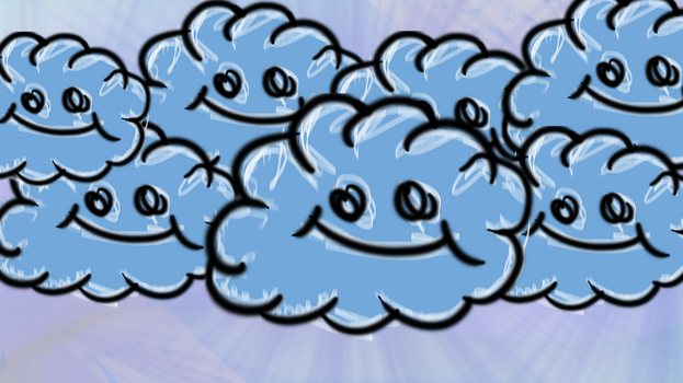 Cloud Family +REQ+ by 8bitDerp