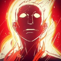 War-face Wednesday: Johnny Storm by AndrewKwan