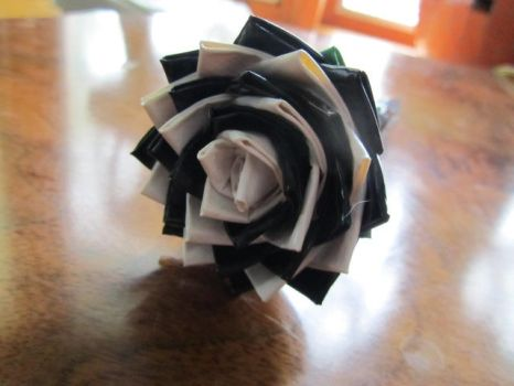 Duct Tape Flower 4 by SharpieObsessed