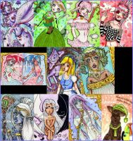 missing ACEO Cards Page 1 by Lulana