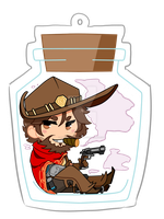 McCree Charm by hoodiepatootie